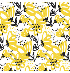 Seamless pattern for surface design vector