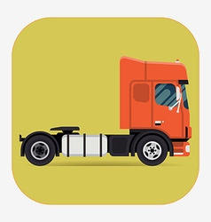Tractor Unit Icon vector image
