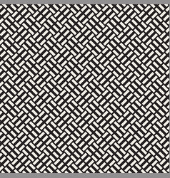Trendy twill weave lattice abstract geometric vector