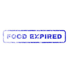 Food expired rubber stamp vector