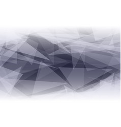 abstract polygonal shape background glowing vector image vector image