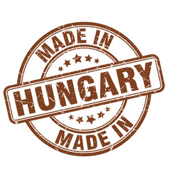 Made in hungary vector
