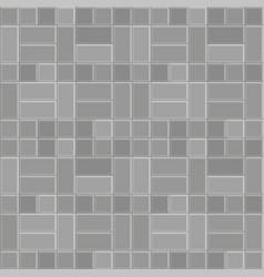 3d brick stone pavement pattern texture vector
