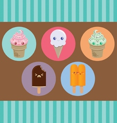 Cute Ice Cream vector