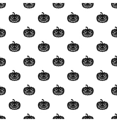 Halloween pumpkin pattern simple style vector