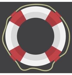 Lifebuoy web flat icon vector