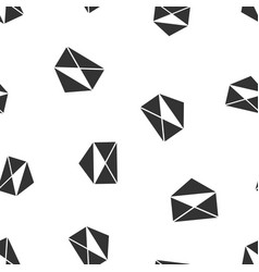 mail envelope icon seamless pattern background vector image vector image