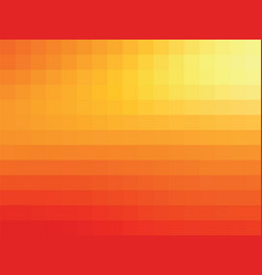 orange mosaic background vector image