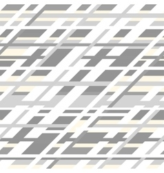 retro geometric seamless pattern in grey vector image