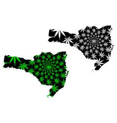Santa catarina region federated state federative vector