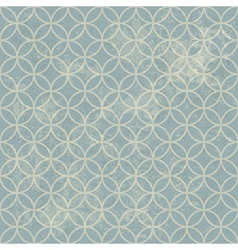 grunge seamless vintage pattern geometric vector image vector image