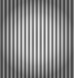 Seamless corrugated silver metal background vector image
