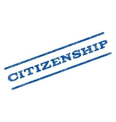 Citizenship Watermark Stamp vector