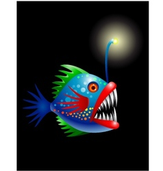 Deep Sea Fish vector