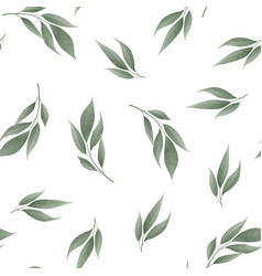 floral pattern plant texture for fabric wrapping vector image