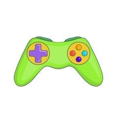 Game controller icon cartoon style vector