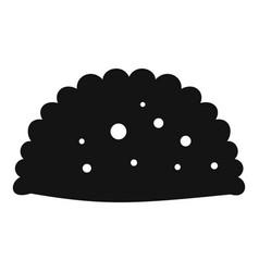 Pattie icon simple black style vector