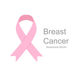 pink ribbons breast cancer women healthcare vector image