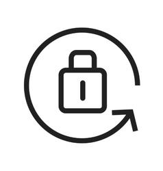 Portrait orientation lock vector