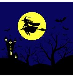hallowen background vector image vector image