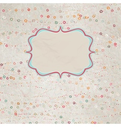 Be my valentine - vintage design EPS 8 vector image vector image
