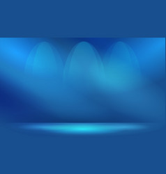 Abstract blue background with lighting copy space vector