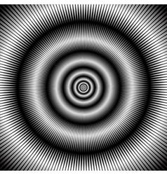 Abstract circular backdrop vector