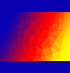 abstract triangular multicolor backgroundeps 10 vector image