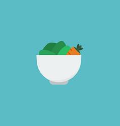 flat icon vegan element of vector image