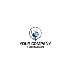 leo medical logo design vector image