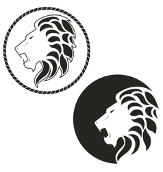 logo with the image of a lion vector image