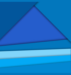 Material design backgroundbright blue colors vector