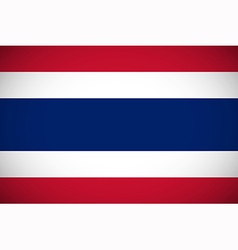 National flag of Thailand vector image