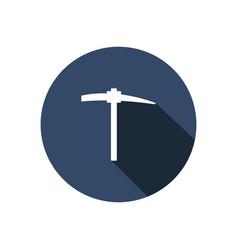pickaxe icon vector image