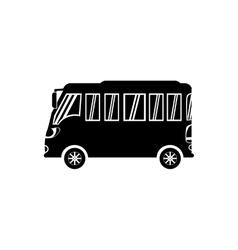 Public bus service vector