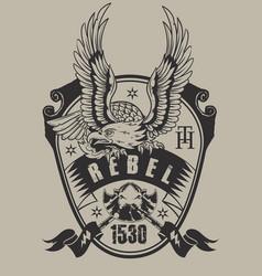 Rebel eagle vector