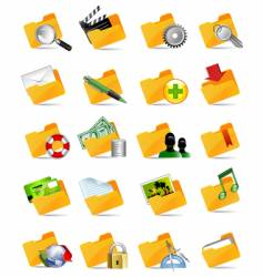 Set of internet icons vector