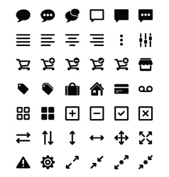 Set universal icons 2 vector