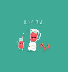 Smuzi and blender vector