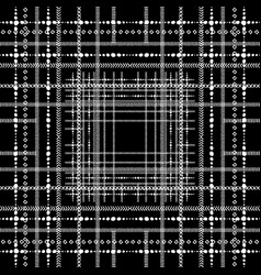 striped abstract black and white seamless vector image