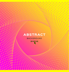 yellow pink gradient background abstract vector image