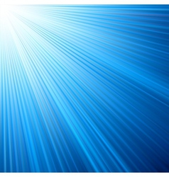 Blue color design with a burst vector image vector image