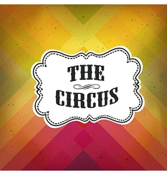 circus retro diagonal lines vector image vector image