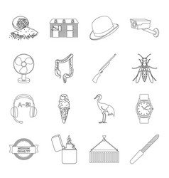 manicure cooking medicine and other web icon in vector image