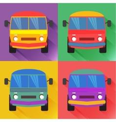 Bus2 vector image vector image