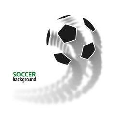 Creative Soccer Design vector image