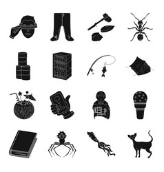 Education medicine fishing and other web icon in vector