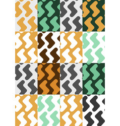 abstract geometric seamless pattern seamless vector image