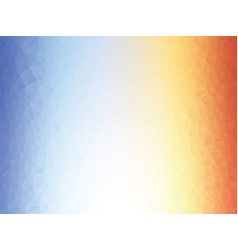 abstract orange blue texture background low poly vector image