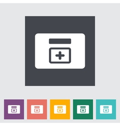 first aid kits vector image